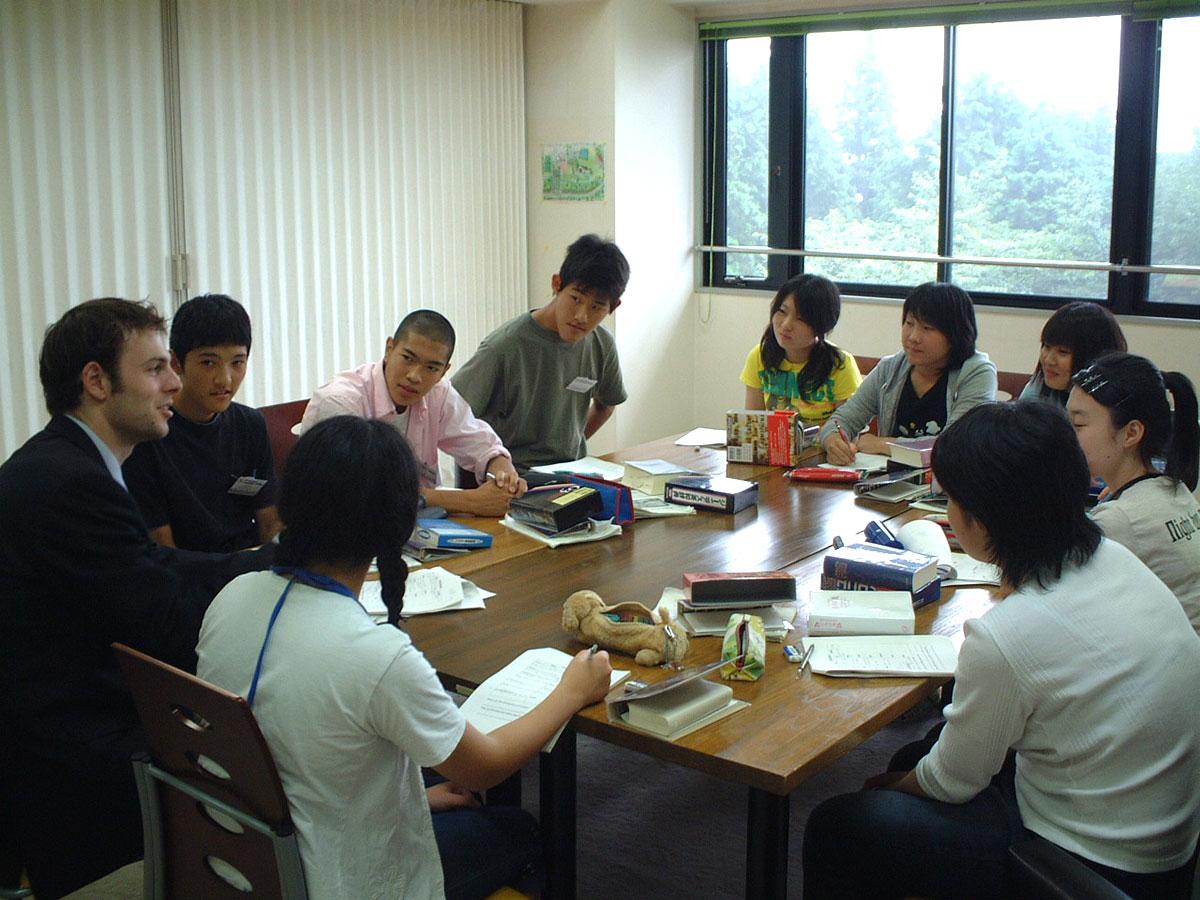 (3) 英語オンリーの授業!