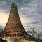 英語(ゲルマン語)とバベルの塔